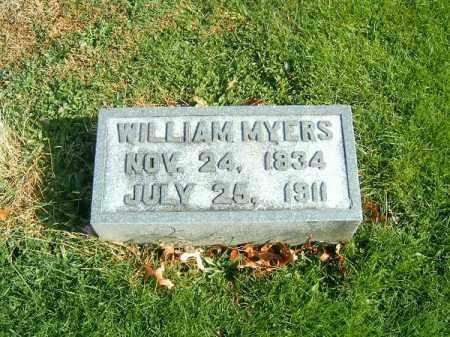 MYERS, WILLIAM - Clermont County, Ohio | WILLIAM MYERS - Ohio Gravestone Photos