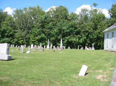 OLD BETHEL, CEMETERY VIEW- NE SECTION - Clermont County, Ohio | CEMETERY VIEW- NE SECTION OLD BETHEL - Ohio Gravestone Photos