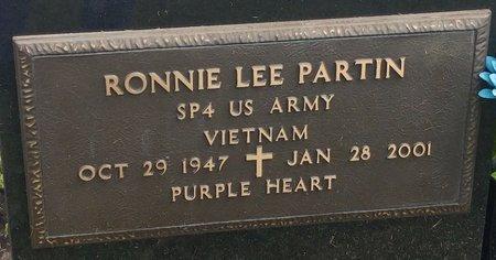 PARTIN, RONNIE LEE - Clermont County, Ohio   RONNIE LEE PARTIN - Ohio Gravestone Photos