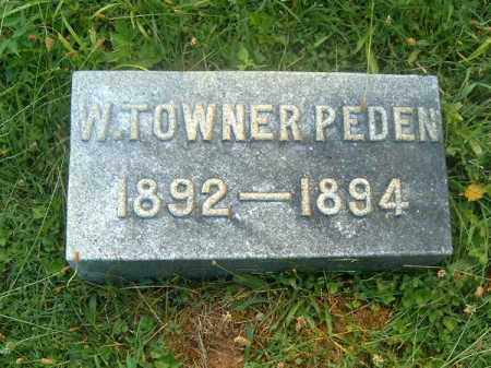 PENDEN, W  TOWNER - Clermont County, Ohio | W  TOWNER PENDEN - Ohio Gravestone Photos
