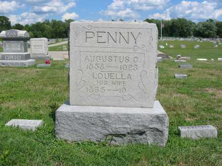 PENNY, AUGUSTUS GRANVILLE - Clermont County, Ohio | AUGUSTUS GRANVILLE PENNY - Ohio Gravestone Photos