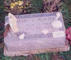 CHRISTOPHER PORTER, MARC - Clermont County, Ohio | MARC CHRISTOPHER PORTER - Ohio Gravestone Photos