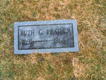 PRATHER, RUTH  G - Clermont County, Ohio | RUTH  G PRATHER - Ohio Gravestone Photos
