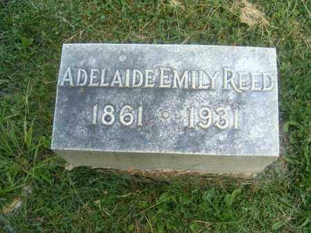 REED, ADELAIDE  EMILY - Clermont County, Ohio   ADELAIDE  EMILY REED - Ohio Gravestone Photos