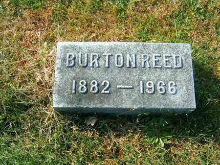 REED, BURTON - Clermont County, Ohio | BURTON REED - Ohio Gravestone Photos