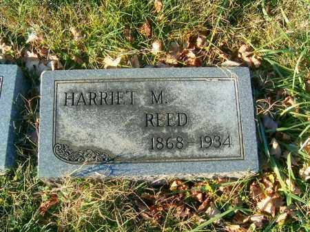 REED, HARRIET  M - Clermont County, Ohio | HARRIET  M REED - Ohio Gravestone Photos