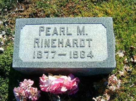 RINEHARDT, PEARL  M - Clermont County, Ohio | PEARL  M RINEHARDT - Ohio Gravestone Photos