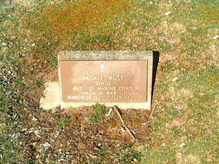 RUST, JACKIE - Clermont County, Ohio | JACKIE RUST - Ohio Gravestone Photos