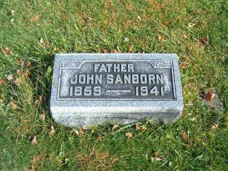 SANBORN, JOHN - Clermont County, Ohio | JOHN SANBORN - Ohio Gravestone Photos