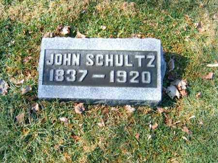 SCHULTZ, JOHN - Clermont County, Ohio   JOHN SCHULTZ - Ohio Gravestone Photos