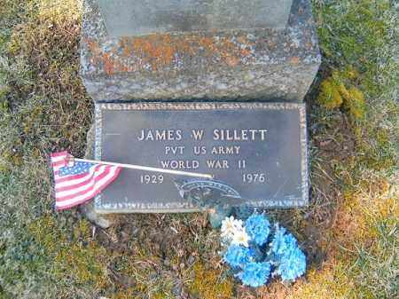 SILLETT, JAMES  W - Clermont County, Ohio   JAMES  W SILLETT - Ohio Gravestone Photos