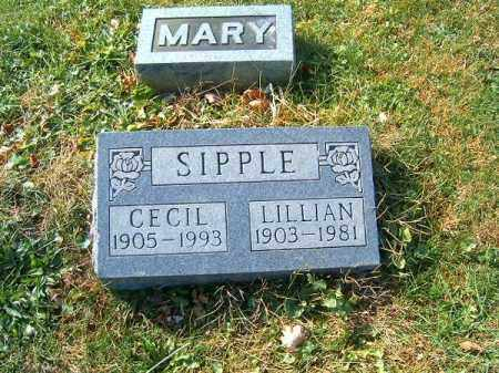 SIPPLE, LILLIAN - Clermont County, Ohio | LILLIAN SIPPLE - Ohio Gravestone Photos