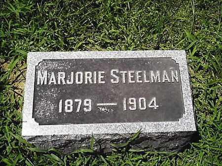 STEELMAN, MARJORIE - Clermont County, Ohio | MARJORIE STEELMAN - Ohio Gravestone Photos