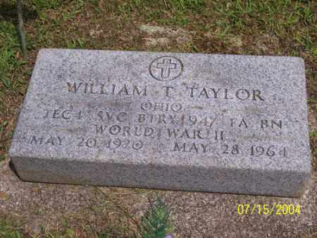 TAYLOR, WILLIAM THOMAS - Clermont County, Ohio | WILLIAM THOMAS TAYLOR - Ohio Gravestone Photos