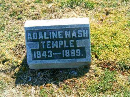 TEMPLE, ADALINE - Clermont County, Ohio | ADALINE TEMPLE - Ohio Gravestone Photos