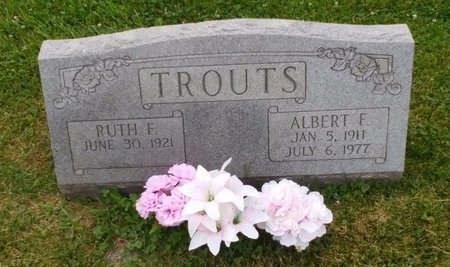 TROUTS, ALBERT FRANKLIN - Clermont County, Ohio | ALBERT FRANKLIN TROUTS - Ohio Gravestone Photos