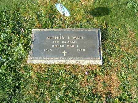 WAIT, ARTHUR  L - Clermont County, Ohio | ARTHUR  L WAIT - Ohio Gravestone Photos