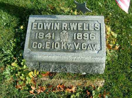 WELLS, EDWIN   R - Clermont County, Ohio | EDWIN   R WELLS - Ohio Gravestone Photos