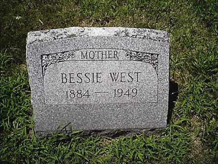 WEST, BESSIE - Clermont County, Ohio | BESSIE WEST - Ohio Gravestone Photos