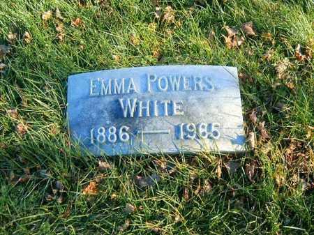 POWERS WHITE, EMMA - Clermont County, Ohio | EMMA POWERS WHITE - Ohio Gravestone Photos