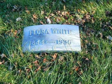 WHITE, FLORA - Clermont County, Ohio | FLORA WHITE - Ohio Gravestone Photos