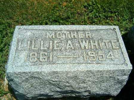 WHITE, LILLIE  A - Clermont County, Ohio   LILLIE  A WHITE - Ohio Gravestone Photos