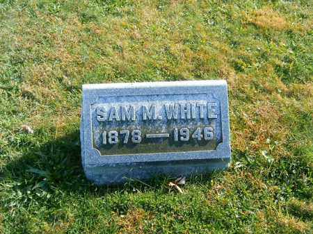 WHITE, SAM   M - Clermont County, Ohio | SAM   M WHITE - Ohio Gravestone Photos