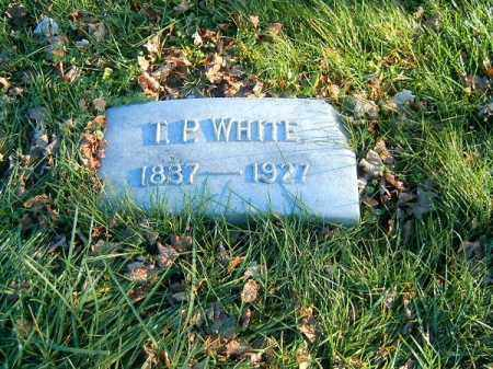 WHITE, T  P - Clermont County, Ohio | T  P WHITE - Ohio Gravestone Photos