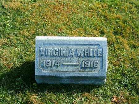 WHITE, VIRGINIA - Clermont County, Ohio | VIRGINIA WHITE - Ohio Gravestone Photos