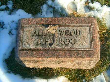WOOD, ALLEN - Clermont County, Ohio | ALLEN WOOD - Ohio Gravestone Photos