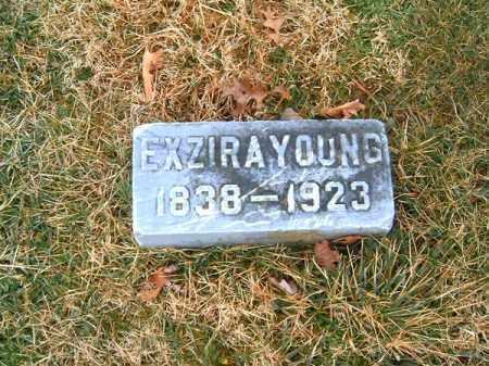 YOUNG, EXZIRA - Clermont County, Ohio   EXZIRA YOUNG - Ohio Gravestone Photos