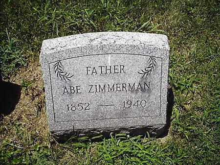 ZIMMERMAN, ABE - Clermont County, Ohio | ABE ZIMMERMAN - Ohio Gravestone Photos