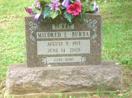 BURKE BURBA, MILDRED - Clinton County, Ohio | MILDRED BURKE BURBA - Ohio Gravestone Photos