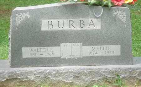 E BURBA, WALTER - Clinton County, Ohio | WALTER E BURBA - Ohio Gravestone Photos