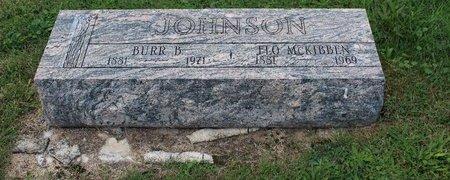MCKIBBEN JOHNSON, FLO - Clinton County, Ohio | FLO MCKIBBEN JOHNSON - Ohio Gravestone Photos