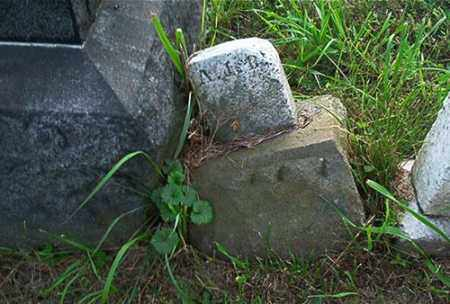 A.J.B., MARKER - Columbiana County, Ohio | MARKER A.J.B. - Ohio Gravestone Photos