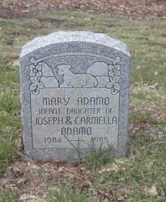 ADAMO, MARY - Columbiana County, Ohio | MARY ADAMO - Ohio Gravestone Photos