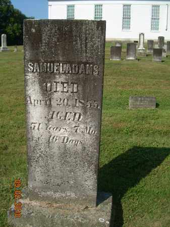 ADAMS, SAMUEL - Columbiana County, Ohio   SAMUEL ADAMS - Ohio Gravestone Photos