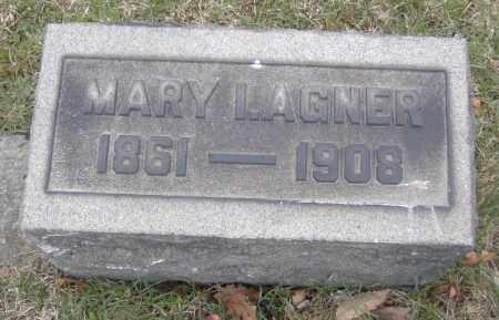 AGNER, MARY I. - Columbiana County, Ohio | MARY I. AGNER - Ohio Gravestone Photos