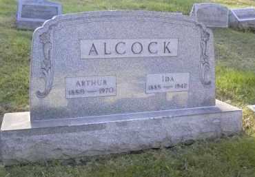 ALCOCK, ARTHUR - Columbiana County, Ohio   ARTHUR ALCOCK - Ohio Gravestone Photos