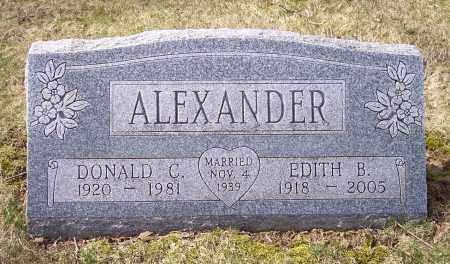 ALEXANDER, DONALD C. - Columbiana County, Ohio | DONALD C. ALEXANDER - Ohio Gravestone Photos