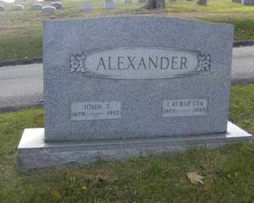 ALEXANDER, LAURHETTA - Columbiana County, Ohio | LAURHETTA ALEXANDER - Ohio Gravestone Photos