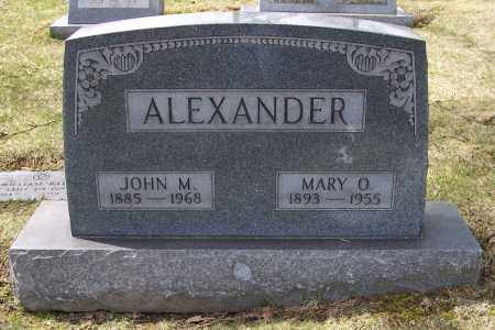 ALEXANDER, MARY O. - Columbiana County, Ohio | MARY O. ALEXANDER - Ohio Gravestone Photos