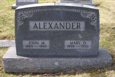 ALEXANDER, MARY O. - Columbiana County, Ohio | MARY O. ALEXANDER - Ohio Gravestone Photos