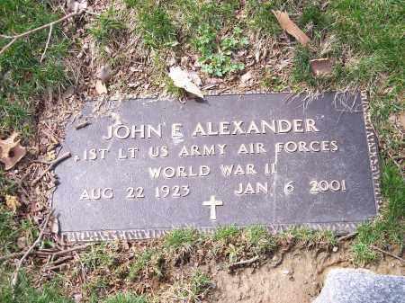 ALEXANDER, JOHN E. - Columbiana County, Ohio | JOHN E. ALEXANDER - Ohio Gravestone Photos