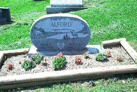 ALFORD, BETTY - Columbiana County, Ohio | BETTY ALFORD - Ohio Gravestone Photos