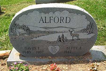 ALFORD, BETTY A. - Columbiana County, Ohio | BETTY A. ALFORD - Ohio Gravestone Photos