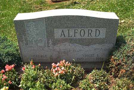 ALFORD, GEORGE A. - Columbiana County, Ohio   GEORGE A. ALFORD - Ohio Gravestone Photos