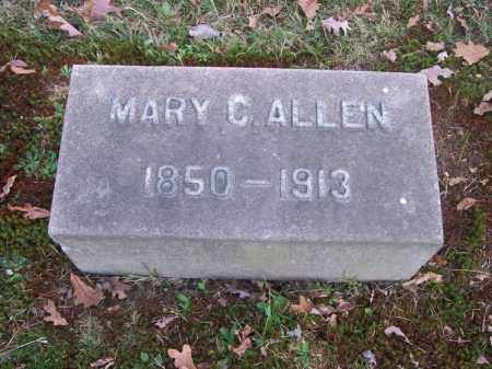 ALLEN, MARY C. - Columbiana County, Ohio | MARY C. ALLEN - Ohio Gravestone Photos