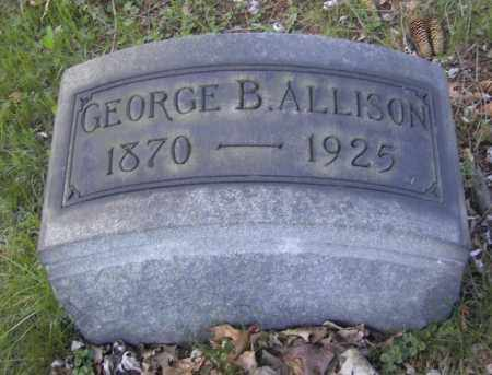 ALLISON, GEORGE B. - Columbiana County, Ohio | GEORGE B. ALLISON - Ohio Gravestone Photos